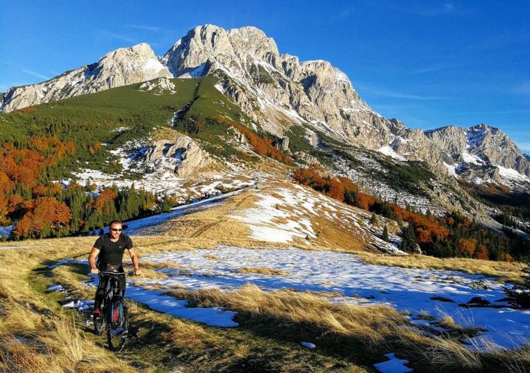 Mount Biking